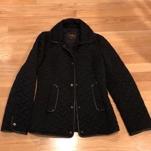Cole Haan   size XS Black quilted jacket